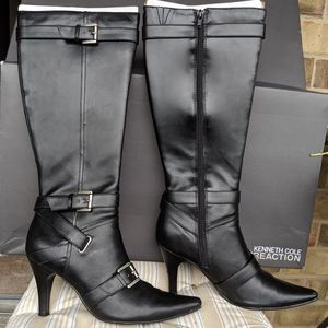 Reaction Kenneth Cole Black Pointed toe Boots